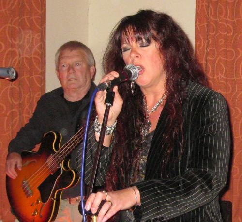 Paul Mountain & Sarah Middleton-Woolley, 'Reflections' gig, Bulcote Farm Rooms Diamond Jubilee Celebration, 04-06-2012