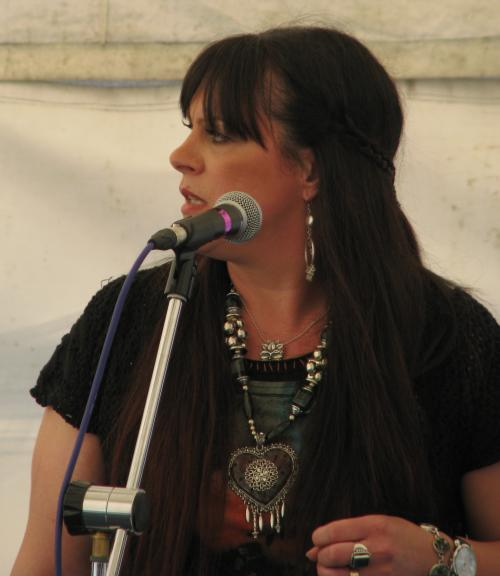 Sarah Middleton-Woolley, 'Top Link' gig, Great Central Railway, Quorn Station, 01-04-2012